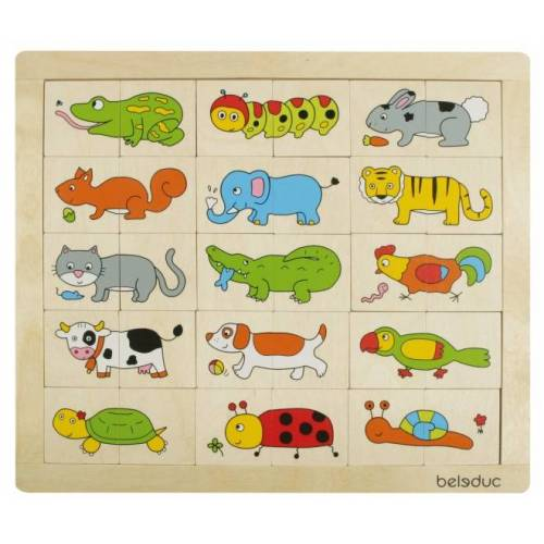 beleduc puzzle Fantasy Tiere 30 Teile