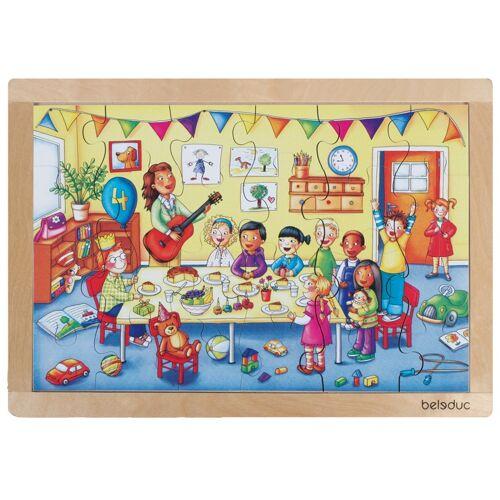 beleduc puzzle Geburtstagsparty 24 Teile 41 cm