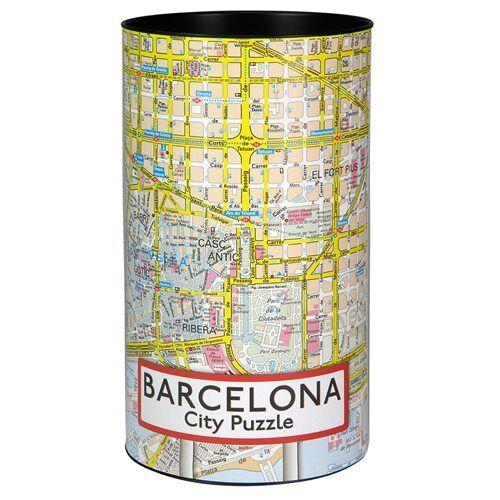 City Puzzle barcelona Karton Puzzle 500 Teile