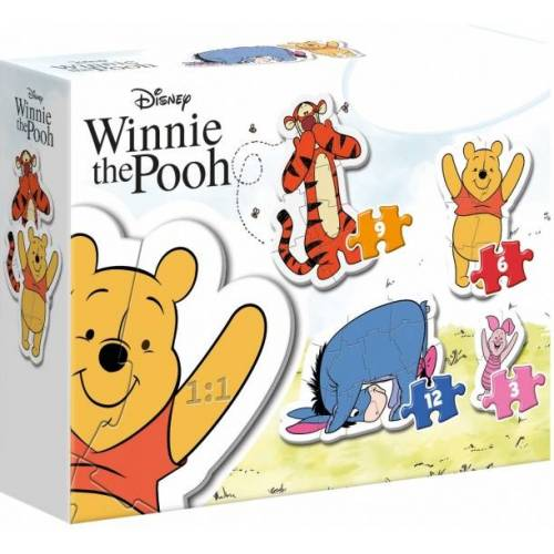Clementoni puzzle My First PuzzleWinnie the Poo 4 Puzzles
