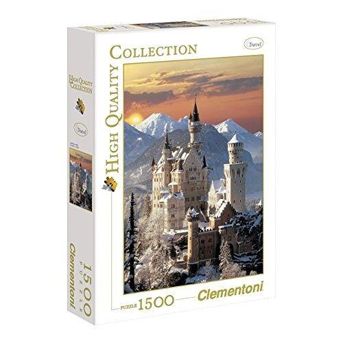 Clementoni Puzzle Neuschwanstein 1500 Teile