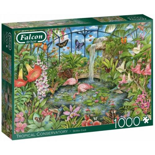 Falcon puzzle Tropical Conservatory 1000 Teile