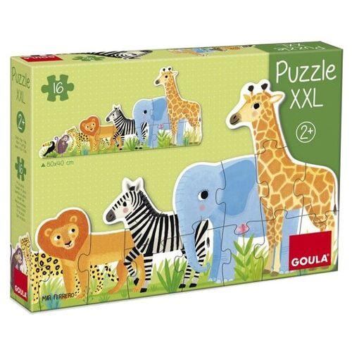 Goula XXL Puzzleteile 16 Jungle