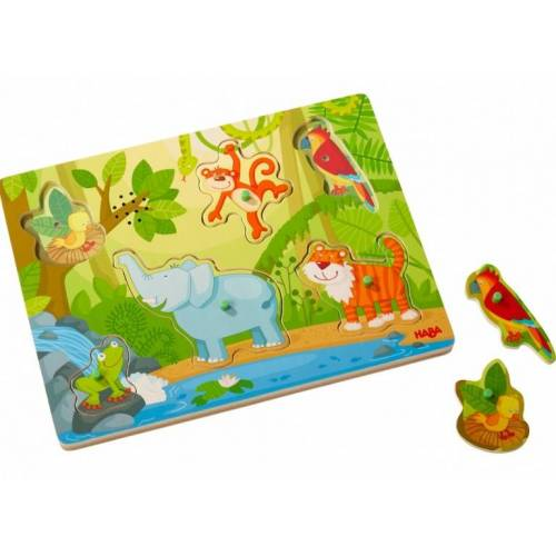 Haba Klangpuzzle im Dschungel 6 Teile