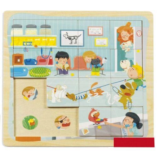 Goula Puzzle an den Tierarzt 16 Stücke