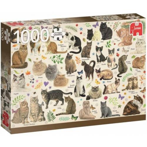 Jumbo Puzzle Katzen 1000 Stück
