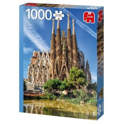 Jumbo puzzle Sagrada Familia Ansicht Barcelona 1000 Teile