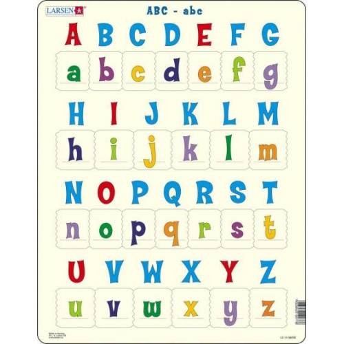 Larsen puzzle Maxi das Alphabet junior Karton 26 Teile