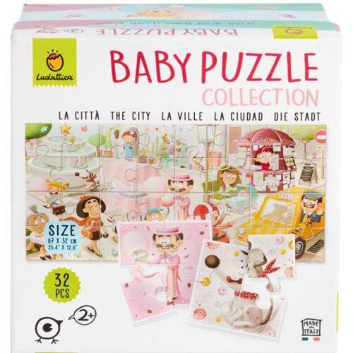 Ludattica puzzle Baby Puzzle City junior Karton 32 Teile
