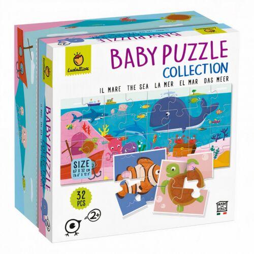 Ludattica puzzle Baby Puzzle Meer junior Karton 32 Teile