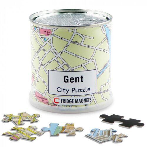City Puzzle magnetpuzzle Gent 100 Teile