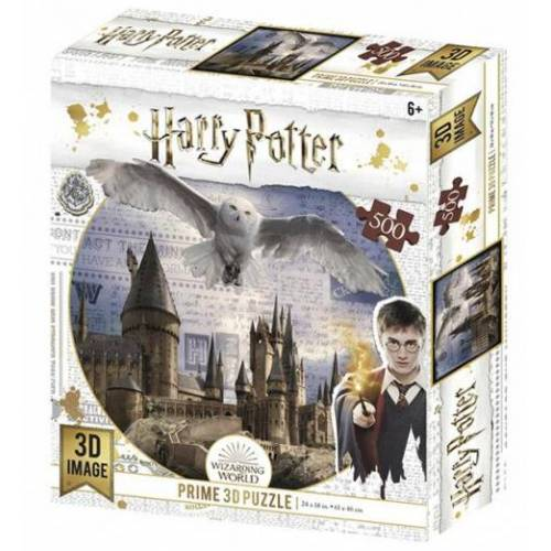 PRiME 3D 3D Puzzle Harry Potter/Hogwarts und Hedwig 500 Teile