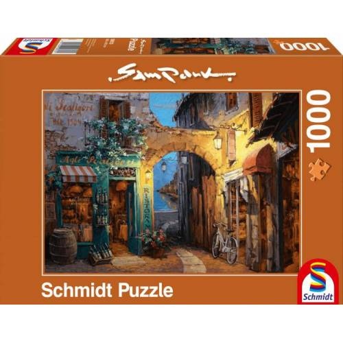 Schmidt Puzzle puzzle Allee am Comer See 1000 Teile