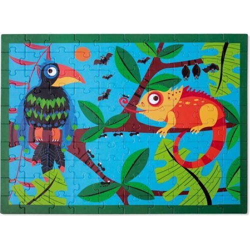 Scratch Puzzle Toucan Dschungel 100 Stück