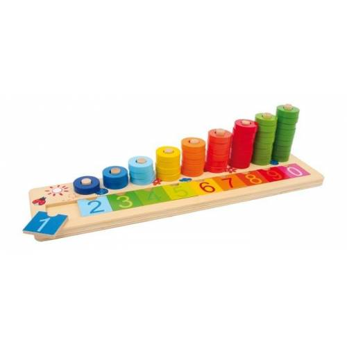 Small Foot Holzboden mit Accounting Cubes 41 X 10 X 11 cm