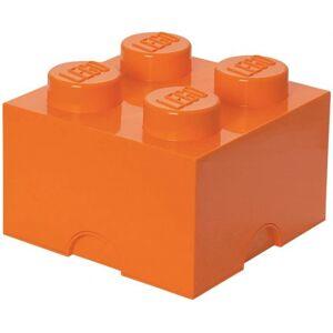Lego speicherstein 4 Noppen 25 x 18 cm Polypropylen orange