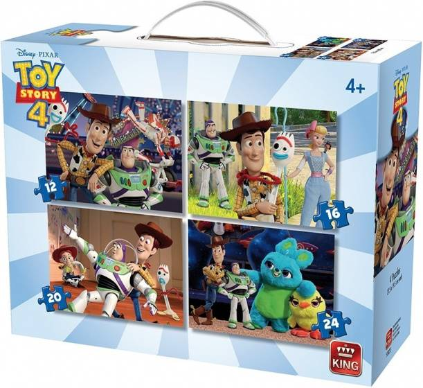 King puzzle Box Disney Toy Story 4 4 in 1 junior 4 teilig