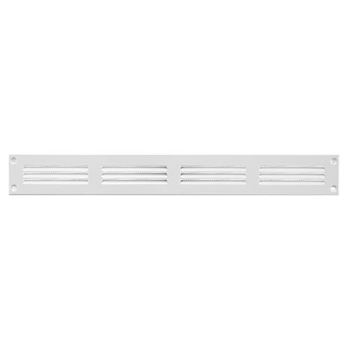 Europlast Metallgitter 400x50mm weiß - MR405