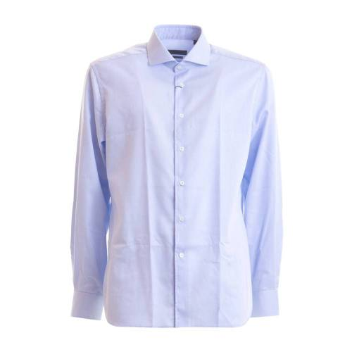 Corneliani Shirt Corneliani 38 IT,43 IT,41 IT Blau Male