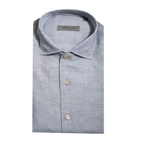 Corneliani Shirt Corneliani 44 Grau Male