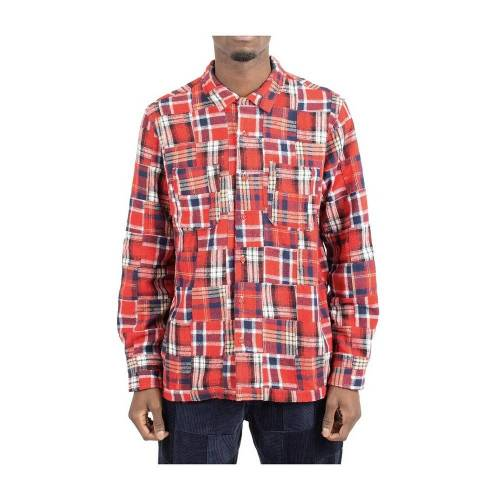 Universal Works Shirt Universal Works L Rot Male
