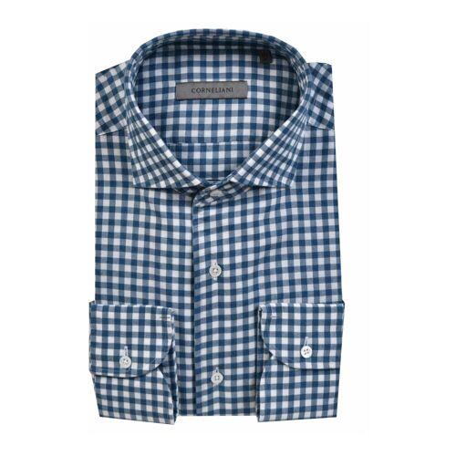 Corneliani Shirt Corneliani 39,44 Blau Male