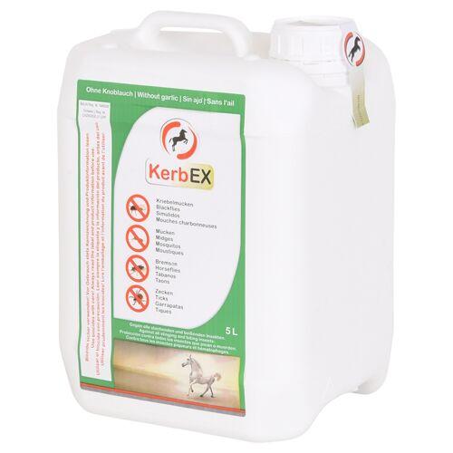 KerbEX grün, ohne Knoblauch - Insektenabwehrmittel für Pferde, 5 Liter