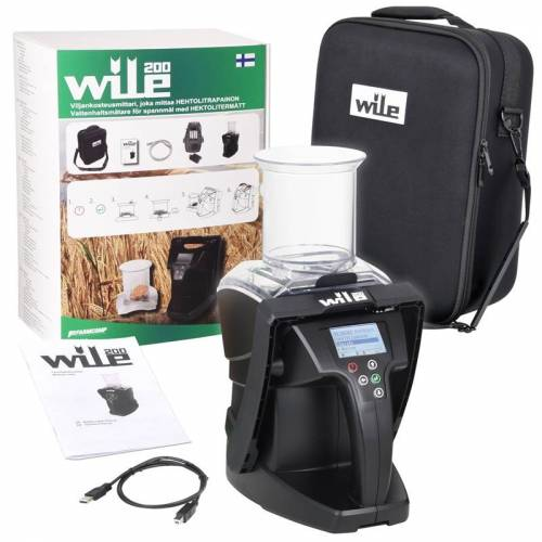 Wile Profi Getreidefeuchtigkeitsmessgerät Wile 200