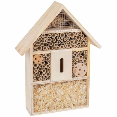 Insektenschutz-Haus, Insektenhotel 27,5 x 9 x 39,5cm