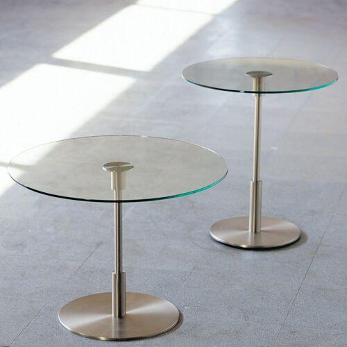 Santa & Cole Diana Beistelltisch, Diana Baja, niedrige Ausführung mit großer Tischplatte