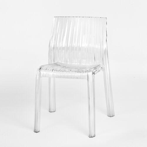 Kartell Frilly 5880, weiß glänzend (undurchsichtig)