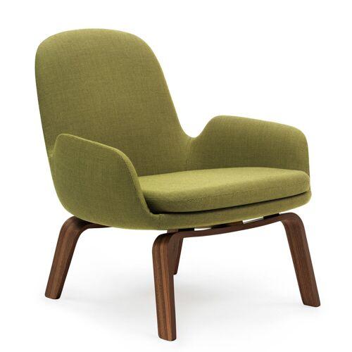 Normann Copenhagen Lounge Chair Low, Eichenholz-Gestell/ petrolfarbener Bezug (Fame)