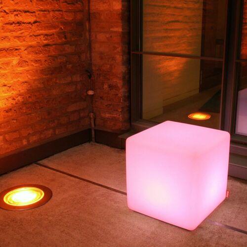 Moree Cube Outdoor, mit LED-Leuchtmittel E27 und Kabel