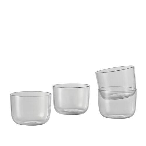 Muuto Corky Trinkglas, 4er-Set, klares Glas