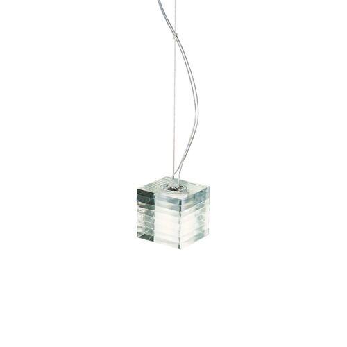 De Majo Otto x Otto S, S3D: Leuchte mit drei Pendeln, mit dezentrierter Einspeis.