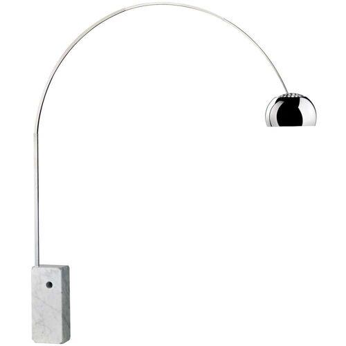 Flos Arco, mit Schalter am Kabel
