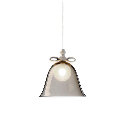Moooi Bell Lamp Small, weiße Schleife, weißer Schirm