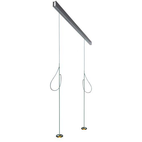 Anta Ny auf Schiene 118 cm, 3 Pendel mit Höhenverstellung, schwarz