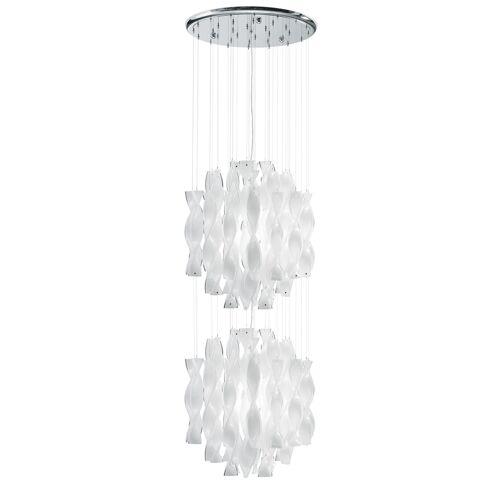 Axo Light Aura SP 45/2, Stahl glänzend - kristall
