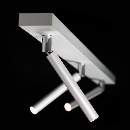 LDM Ecco LED Spot Trio, bronze pulverbeschichtet