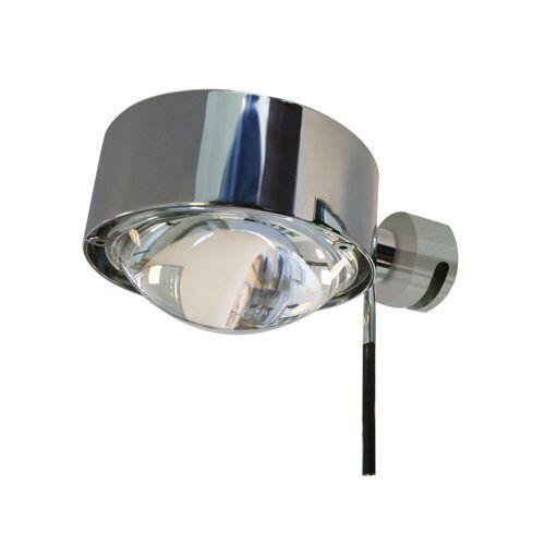 Top Light Puk Fix + drehbare Spiegelklemmleuchte, Halogen, chrom