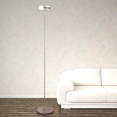 Top Light Puk Floor Maxi Twin Stehleuchte, Halogen, chrom