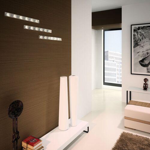 Milan Puns Wandleuchte mit 6 LED-Strahlern, chrom