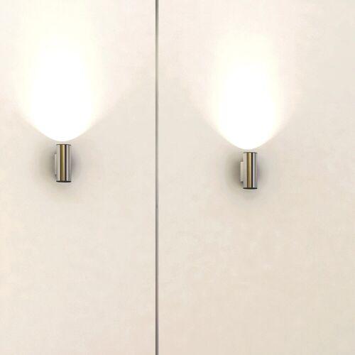 Milan Tub LED Wandleuchte klein, weiß