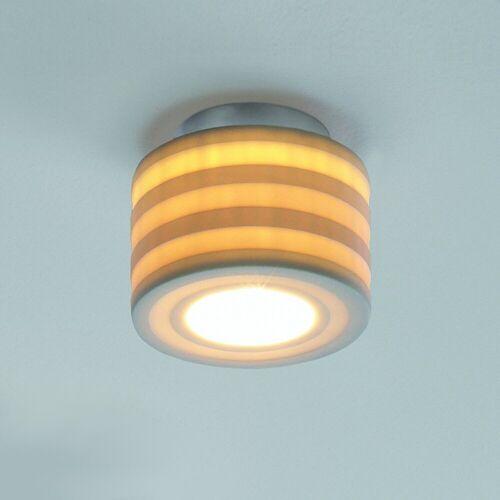 Steng Licht Tjao Deckenleuchte, G9-Version, schmale Streifen