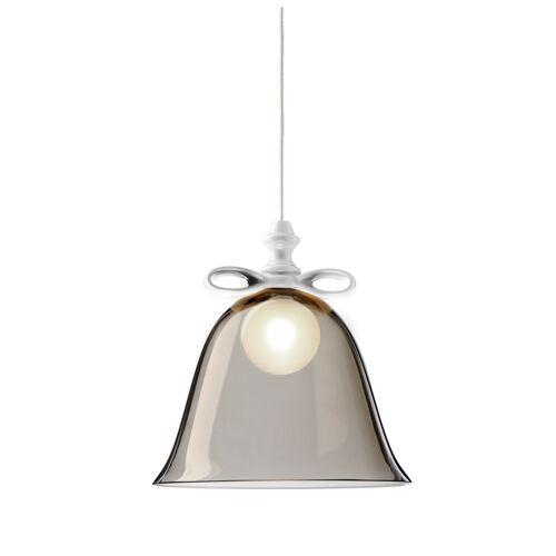 Moooi Bell Lamp, weiße Schleife, weißer Schirm