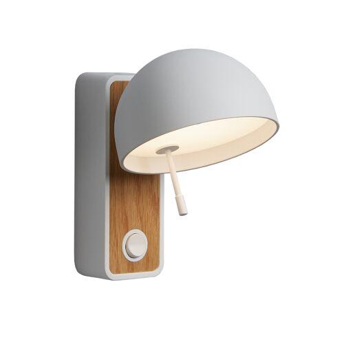 Bover Beddy A/01 LED, weiß / Eichenholz