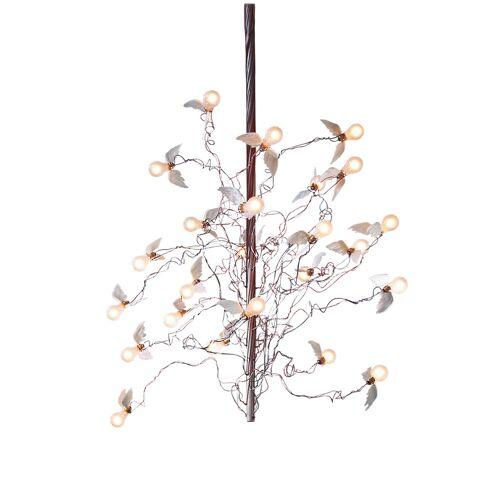Ingo Maurer Birds Birds Birds LED, Mindestlänge 130 cm, Kabel rot/blau