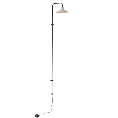 Bover Platet A/05 LED, Schirm olivgrau