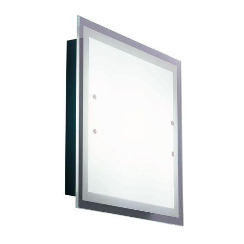 De Majo Quadra Wand- und Deckenleuchte, quadratische, kleine Version (44 cm)